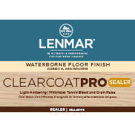 ClearCoat PRO Waterborne Floor Sealer - Amber