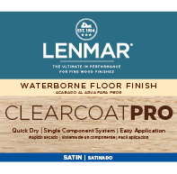 ClearCoat PRO Waterborne Floor Finish - Satin
