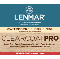 ClearCoat PRO Waterborne Floor Finish - Semi-Gloss