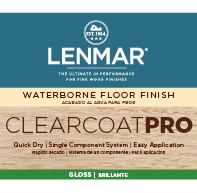 ClearCoat PRO Waterborne Floor Finish - Gloss