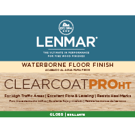 ClearCoat PRO HT Waterborne Floor Finish - Gloss