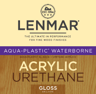 Picture of Aqua-Plastic®Waterborne Urethane - Gloss