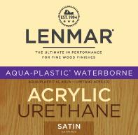 Picture of Aqua-Plastic® Waterborne Urethane - Satin