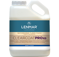 ClearCoat PRO XD Waterborne Floor Finish - Cross-Linker