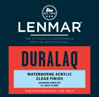 DuraLaq® Waterborne Acrylic Clear Finish - Gloss