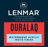 DuraLaq® Waterborne Acrylic White Finish - Gloss