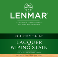 QuickStain Lacquer Wiping Stain