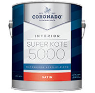 Super Kote 5000 Waterborne Acrylic-Alkyd - Satin