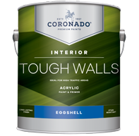 Tough Walls Acrylic Paint & Primer - Eggshell