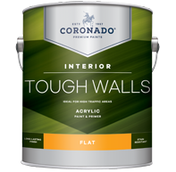 Tough Walls Acrylic Paint & Primer - Flat