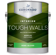 Tough Walls Acrylic Paint & Primer - Semi-Gloss