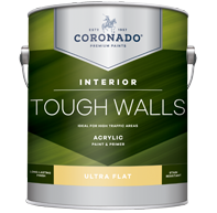 Tough Walls Acrylic Paint & Primer - Ultra Flat