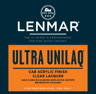 Ultra UniLaq® CAB Acrylic Clear Lacquer - Dull Rubbed