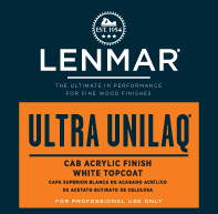 Ultra UniLaq® CAB Acrylic White Topcoat - Gloss