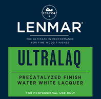 UltraMax® Plus Water White Precatalyzed Lacquer - Gloss