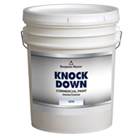 Benjamin Moore Knockdown – Satin