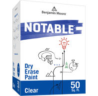 Notable® Dry Erase Paint – Clear