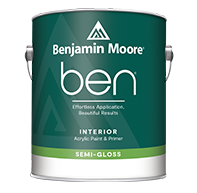 ben Interior Paint – Semi-Gloss
