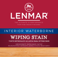 Picture of Waterborne Interior Wiping Wood Stain