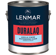 Picture of DuraLaq® Waterborne Acrylic Clear Finish - Satin