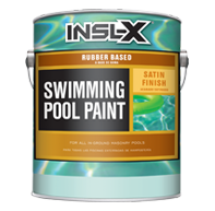 Picture of Rubber Based Swimming Pool Paint - Satin