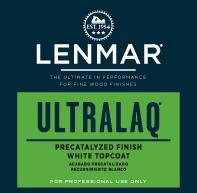 Picture of UltraLaq& White Precatalyzed Lacquer - Gloss