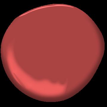 Moroccan red 1309 benjamin moore for Benjamin moore eco spec paint reviews