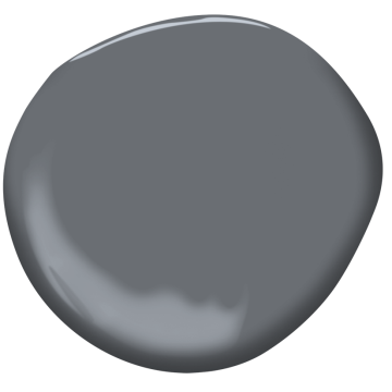 Ashland slate 1608 benjamin moore for Benjamin moore slate grey