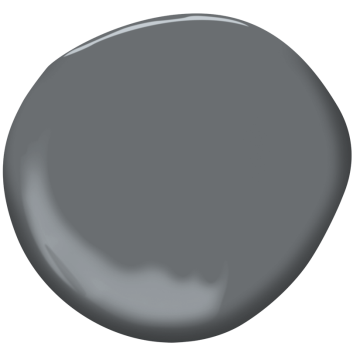 trout gray 2124-20 | benjamin moore