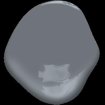 gray shower 2125-30 | benjamin moore