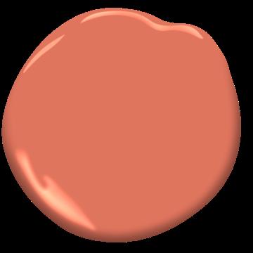 tucker orange cw-300 | benjamin moore