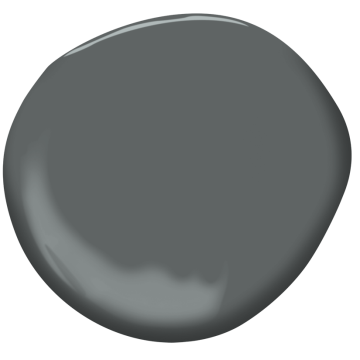 Bracken slate cw 690 benjamin moore for Benjamin moore slate grey